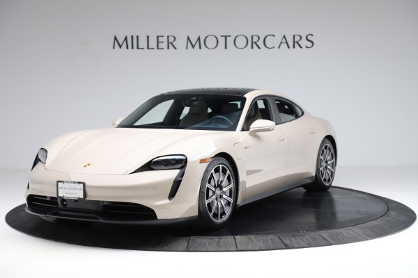 Used 2021 Porsche Taycan 4S for sale Sold at Maserati of Greenwich in Greenwich CT 06830 1