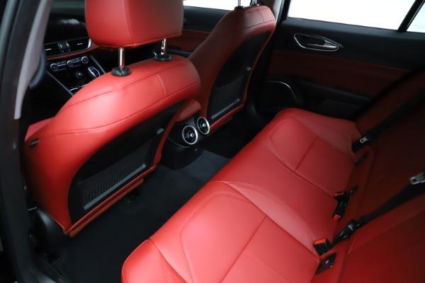 New 2021 Alfa Romeo Giulia Q4 for sale $48,535 at Maserati of Greenwich in Greenwich CT 06830 19