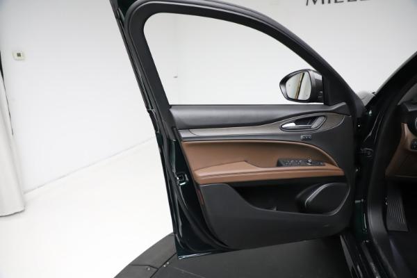 New 2021 Alfa Romeo Stelvio Ti Q4 for sale $53,650 at Maserati of Greenwich in Greenwich CT 06830 17