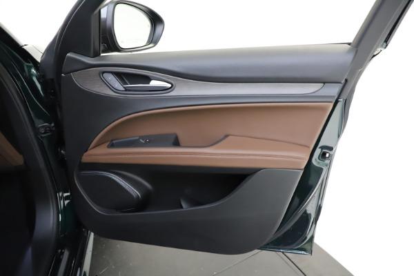 New 2021 Alfa Romeo Stelvio Ti Q4 for sale $53,650 at Maserati of Greenwich in Greenwich CT 06830 22