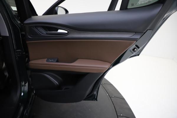 New 2021 Alfa Romeo Stelvio Ti Q4 for sale $53,650 at Maserati of Greenwich in Greenwich CT 06830 24