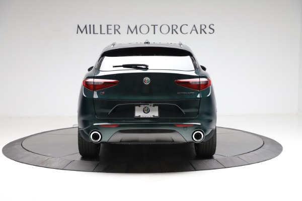 New 2021 Alfa Romeo Stelvio Ti Q4 for sale $53,650 at Maserati of Greenwich in Greenwich CT 06830 6