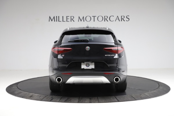 New 2021 Alfa Romeo Stelvio Q4 for sale $50,245 at Maserati of Greenwich in Greenwich CT 06830 6