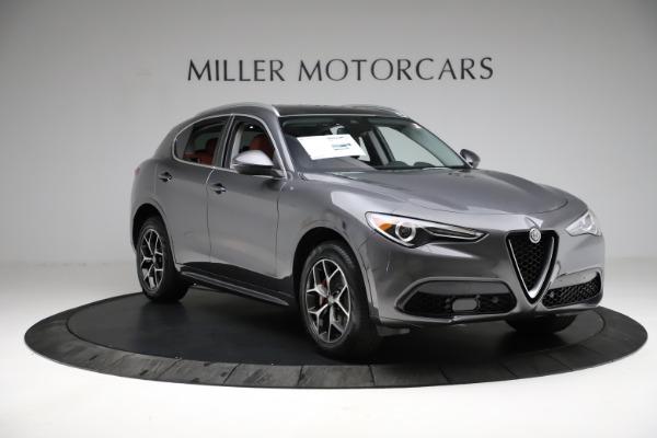 New 2021 Alfa Romeo Stelvio Ti Q4 for sale $55,500 at Maserati of Greenwich in Greenwich CT 06830 12