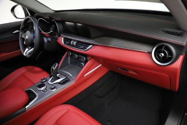 New 2021 Alfa Romeo Stelvio Ti Q4 for sale $55,500 at Maserati of Greenwich in Greenwich CT 06830 21