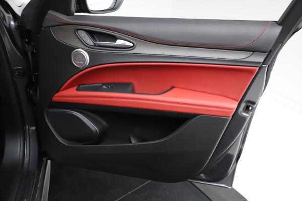 New 2021 Alfa Romeo Stelvio Ti Q4 for sale $55,500 at Maserati of Greenwich in Greenwich CT 06830 23