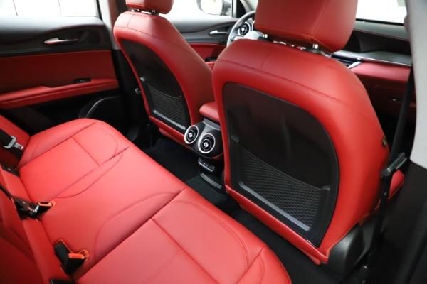New 2021 Alfa Romeo Stelvio Ti Q4 for sale $55,500 at Maserati of Greenwich in Greenwich CT 06830 24