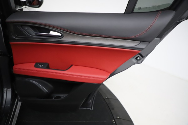 New 2021 Alfa Romeo Stelvio Ti Q4 for sale $55,500 at Maserati of Greenwich in Greenwich CT 06830 26