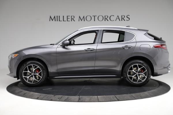 New 2021 Alfa Romeo Stelvio Ti Q4 for sale $55,500 at Maserati of Greenwich in Greenwich CT 06830 3