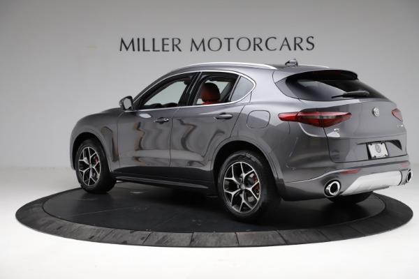 New 2021 Alfa Romeo Stelvio Ti Q4 for sale $55,500 at Maserati of Greenwich in Greenwich CT 06830 5