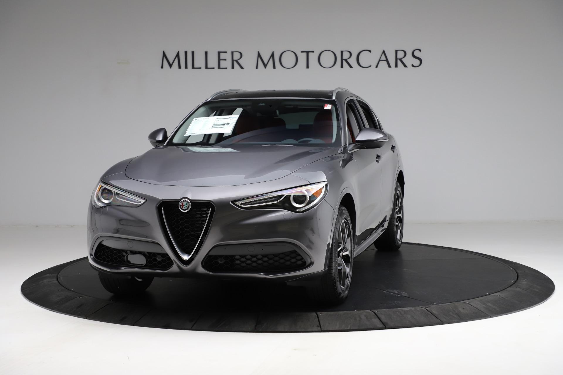 New 2021 Alfa Romeo Stelvio Ti Q4 for sale $55,500 at Maserati of Greenwich in Greenwich CT 06830 1