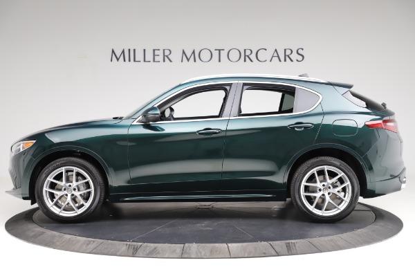 New 2021 Alfa Romeo Stelvio Ti Q4 for sale Sold at Maserati of Greenwich in Greenwich CT 06830 3