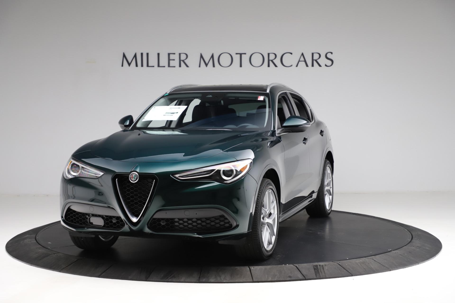 New 2021 Alfa Romeo Stelvio Ti Q4 for sale $53,500 at Maserati of Greenwich in Greenwich CT 06830 1