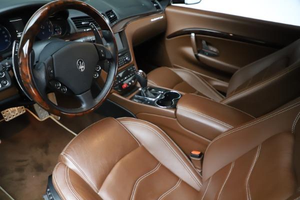 Used 2013 Maserati GranTurismo Sport for sale Call for price at Maserati of Greenwich in Greenwich CT 06830 14