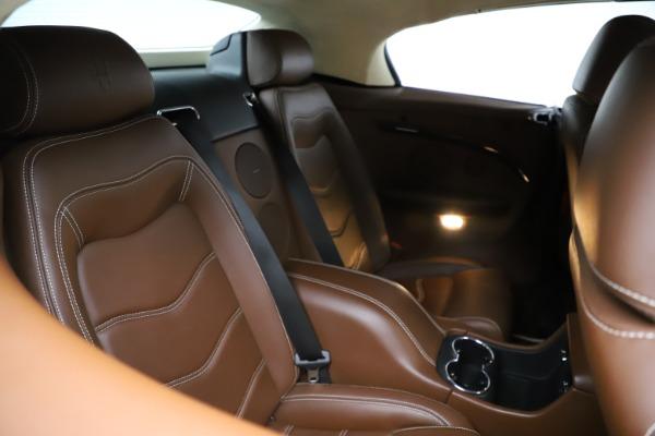Used 2013 Maserati GranTurismo Sport for sale Call for price at Maserati of Greenwich in Greenwich CT 06830 17