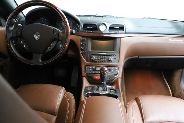 Used 2013 Maserati GranTurismo Sport for sale Call for price at Maserati of Greenwich in Greenwich CT 06830 21