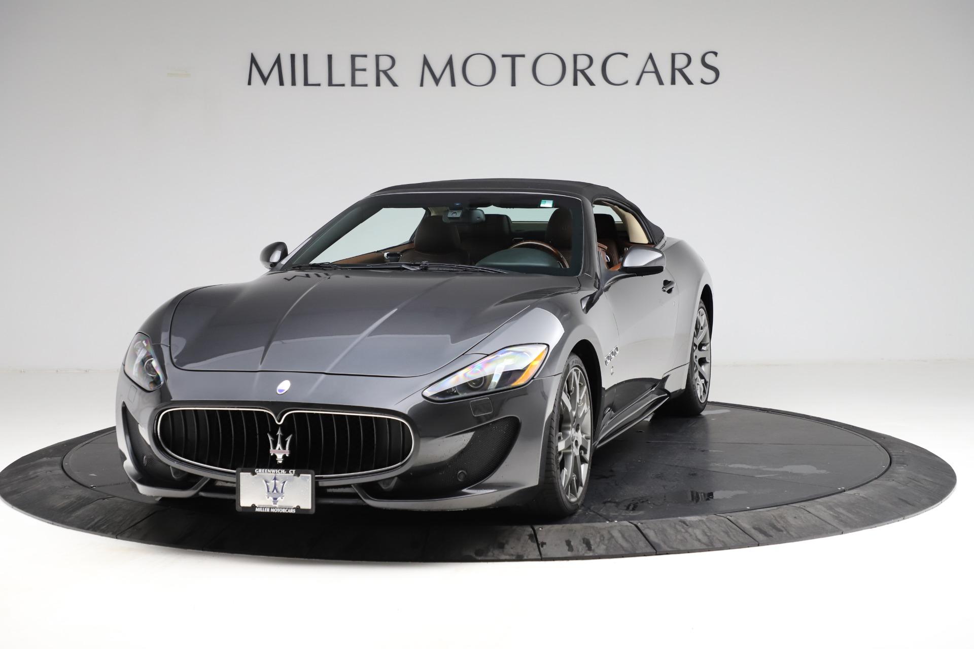Used 2013 Maserati GranTurismo Sport for sale Call for price at Maserati of Greenwich in Greenwich CT 06830 1
