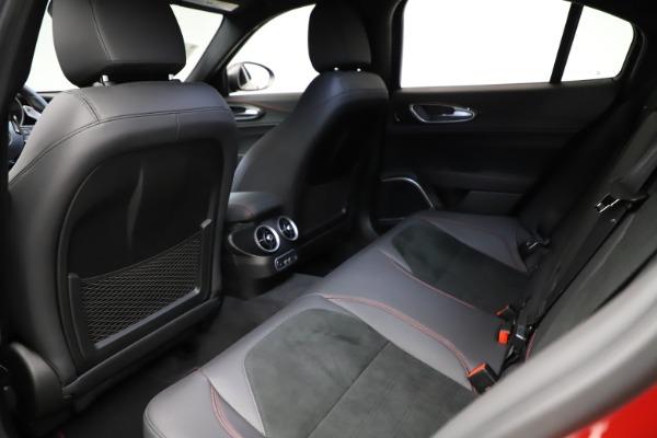 New 2021 Alfa Romeo Giulia Quadrifoglio for sale $83,740 at Maserati of Greenwich in Greenwich CT 06830 17