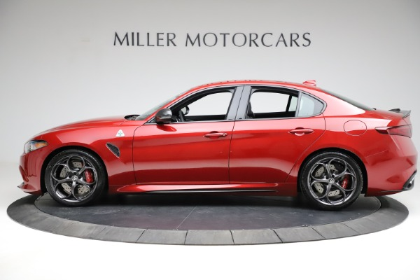 New 2021 Alfa Romeo Giulia Quadrifoglio for sale $83,740 at Maserati of Greenwich in Greenwich CT 06830 2
