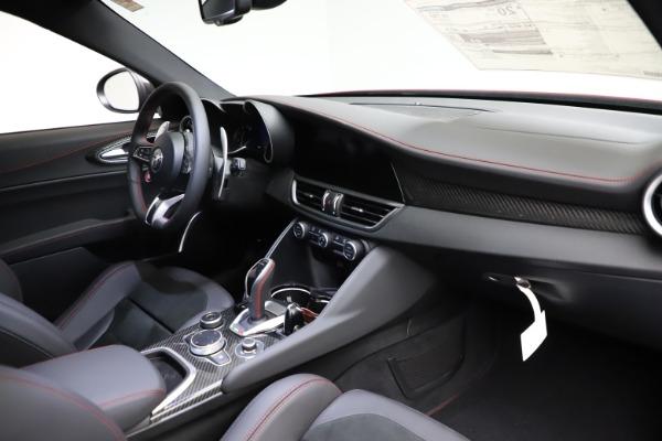 New 2021 Alfa Romeo Giulia Quadrifoglio for sale $83,740 at Maserati of Greenwich in Greenwich CT 06830 22