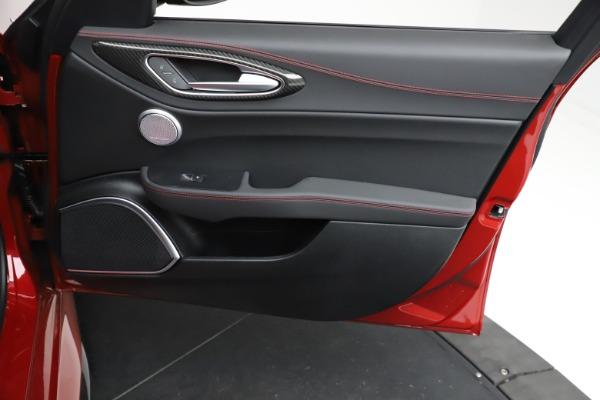 New 2021 Alfa Romeo Giulia Quadrifoglio for sale $83,740 at Maserati of Greenwich in Greenwich CT 06830 24