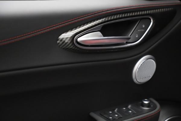 New 2021 Alfa Romeo Giulia Quadrifoglio for sale $83,740 at Maserati of Greenwich in Greenwich CT 06830 27