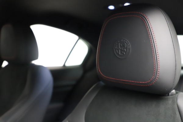 New 2021 Alfa Romeo Giulia Quadrifoglio for sale $83,740 at Maserati of Greenwich in Greenwich CT 06830 28