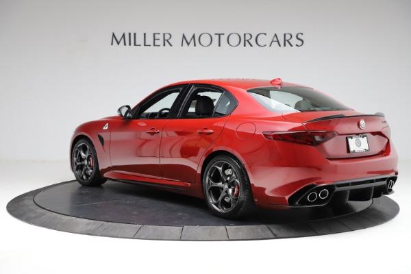 New 2021 Alfa Romeo Giulia Quadrifoglio for sale $83,740 at Maserati of Greenwich in Greenwich CT 06830 3