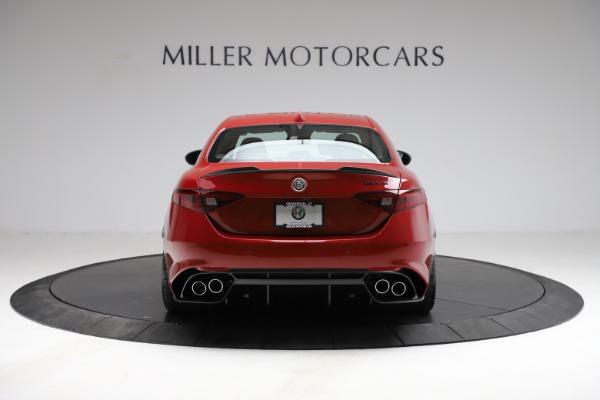 New 2021 Alfa Romeo Giulia Quadrifoglio for sale $83,740 at Maserati of Greenwich in Greenwich CT 06830 4