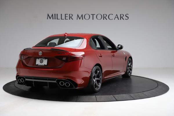 New 2021 Alfa Romeo Giulia Quadrifoglio for sale $83,740 at Maserati of Greenwich in Greenwich CT 06830 5