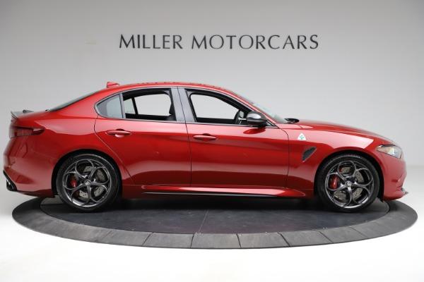 New 2021 Alfa Romeo Giulia Quadrifoglio for sale $83,740 at Maserati of Greenwich in Greenwich CT 06830 7