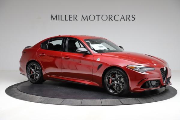 New 2021 Alfa Romeo Giulia Quadrifoglio for sale $83,740 at Maserati of Greenwich in Greenwich CT 06830 8