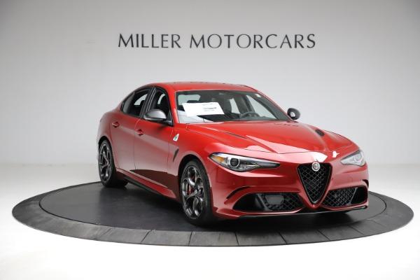 New 2021 Alfa Romeo Giulia Quadrifoglio for sale $83,740 at Maserati of Greenwich in Greenwich CT 06830 9