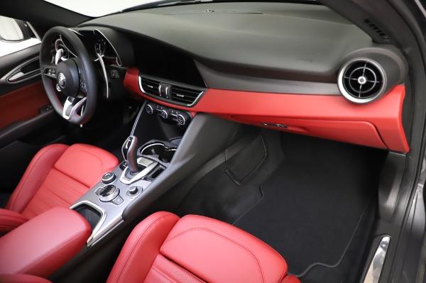 New 2021 Alfa Romeo Giulia Ti Sport for sale $54,050 at Maserati of Greenwich in Greenwich CT 06830 21