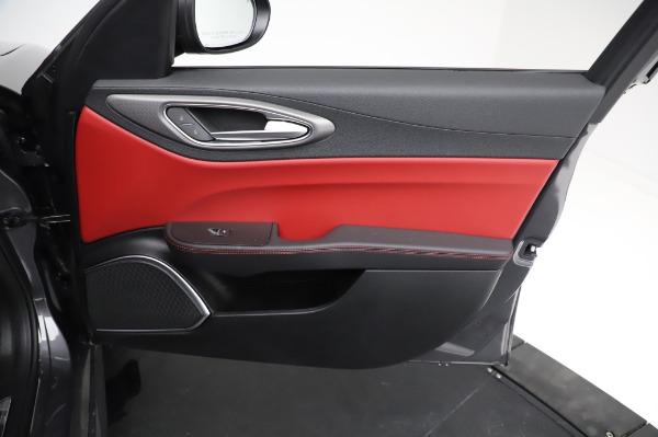 New 2021 Alfa Romeo Giulia Ti Sport for sale $54,050 at Maserati of Greenwich in Greenwich CT 06830 23