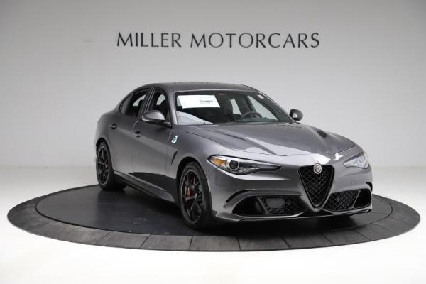 New 2021 Alfa Romeo Giulia Quadrifoglio for sale $83,200 at Maserati of Greenwich in Greenwich CT 06830 10