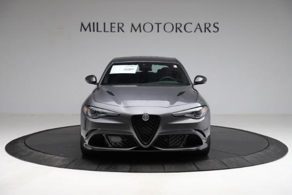 New 2021 Alfa Romeo Giulia Quadrifoglio for sale $83,200 at Maserati of Greenwich in Greenwich CT 06830 11