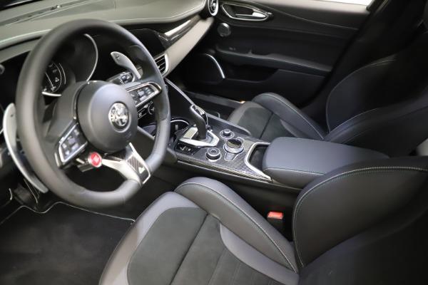 New 2021 Alfa Romeo Giulia Quadrifoglio for sale $83,200 at Maserati of Greenwich in Greenwich CT 06830 12