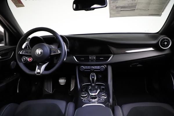 New 2021 Alfa Romeo Giulia Quadrifoglio for sale $83,200 at Maserati of Greenwich in Greenwich CT 06830 15