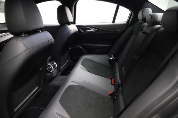 New 2021 Alfa Romeo Giulia Quadrifoglio for sale $83,200 at Maserati of Greenwich in Greenwich CT 06830 18