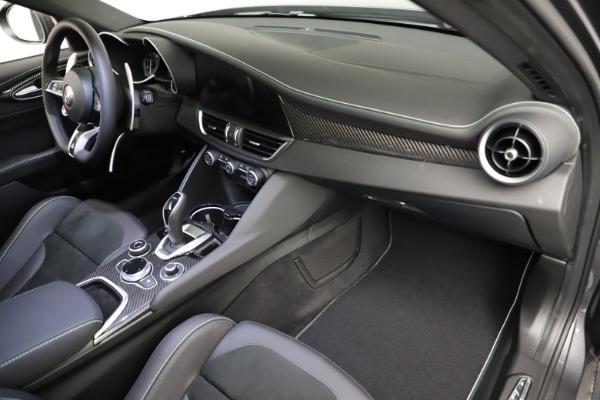 New 2021 Alfa Romeo Giulia Quadrifoglio for sale $83,200 at Maserati of Greenwich in Greenwich CT 06830 20