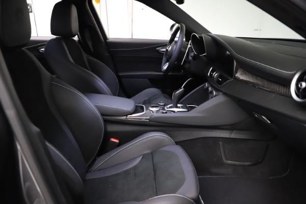 New 2021 Alfa Romeo Giulia Quadrifoglio for sale $83,200 at Maserati of Greenwich in Greenwich CT 06830 21