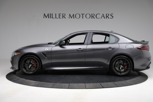 New 2021 Alfa Romeo Giulia Quadrifoglio for sale $83,200 at Maserati of Greenwich in Greenwich CT 06830 3