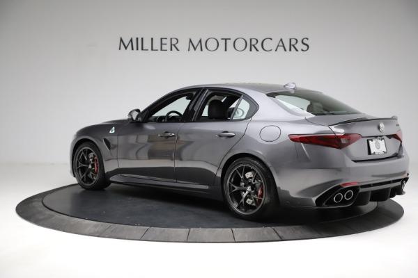 New 2021 Alfa Romeo Giulia Quadrifoglio for sale $83,200 at Maserati of Greenwich in Greenwich CT 06830 4