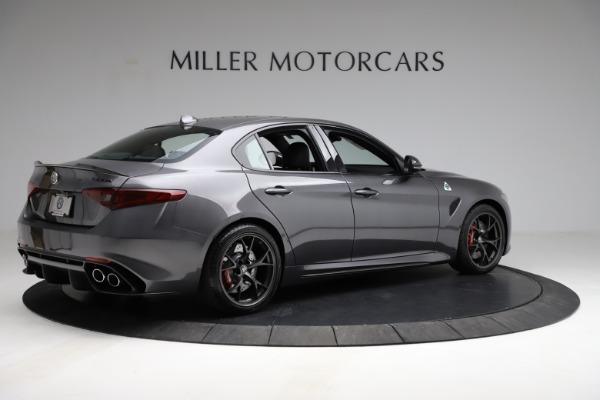 New 2021 Alfa Romeo Giulia Quadrifoglio for sale $83,200 at Maserati of Greenwich in Greenwich CT 06830 7