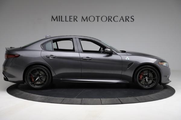 New 2021 Alfa Romeo Giulia Quadrifoglio for sale $83,200 at Maserati of Greenwich in Greenwich CT 06830 8
