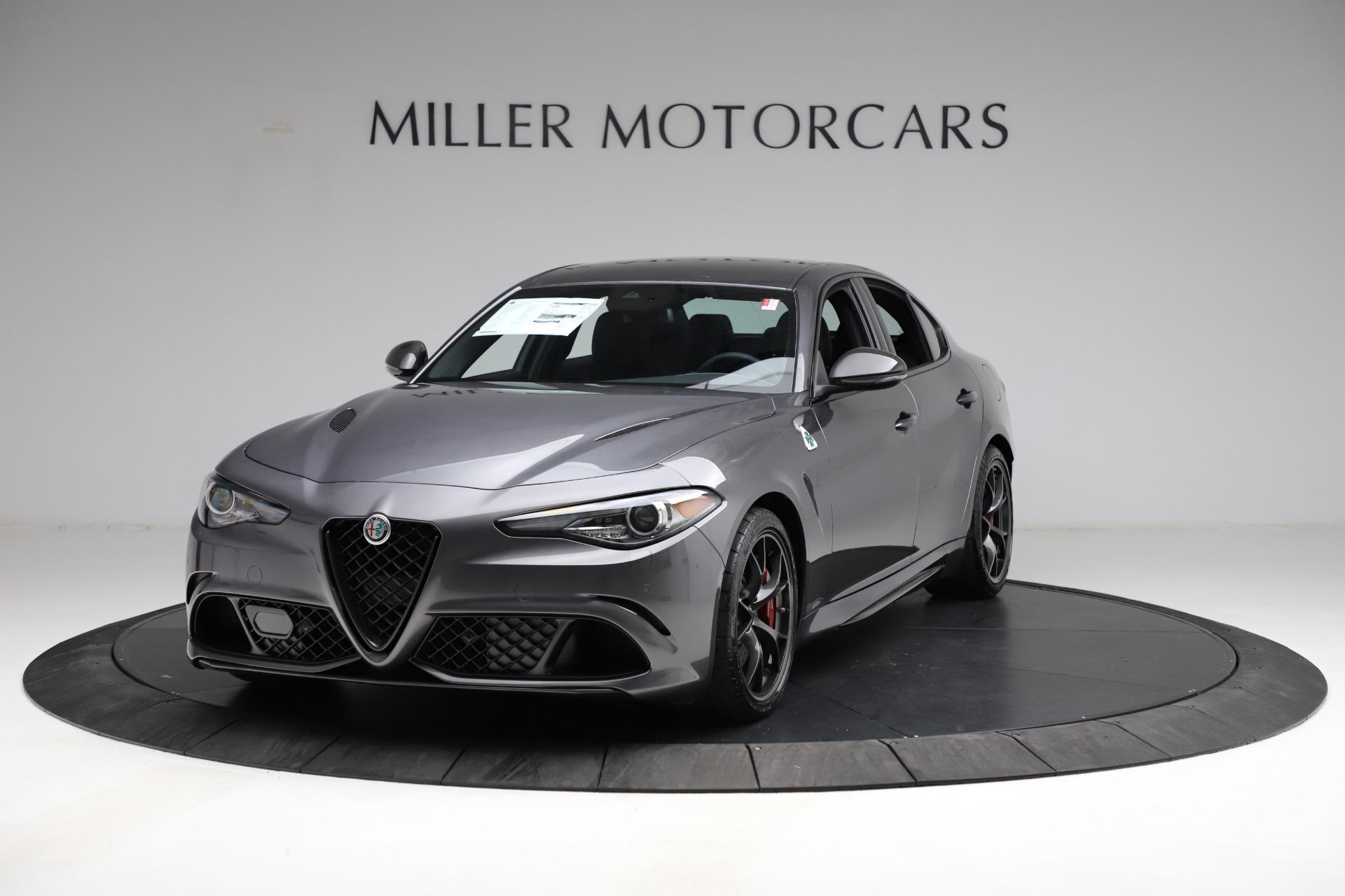 New 2021 Alfa Romeo Giulia Quadrifoglio for sale $83,200 at Maserati of Greenwich in Greenwich CT 06830 1