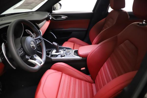 New 2021 Alfa Romeo Giulia Ti Sport for sale $54,050 at Maserati of Greenwich in Greenwich CT 06830 13