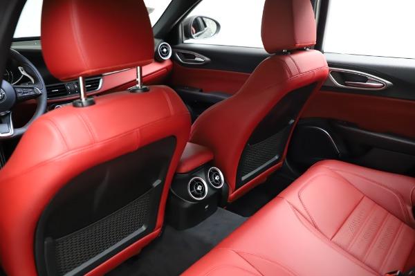 New 2021 Alfa Romeo Giulia Ti Sport for sale $54,050 at Maserati of Greenwich in Greenwich CT 06830 17