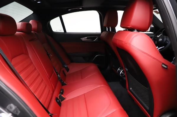 New 2021 Alfa Romeo Giulia Ti Sport for sale $54,050 at Maserati of Greenwich in Greenwich CT 06830 24